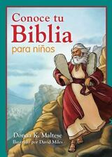 Conoce tu Biblia para nios:  Mi primera referencia bblica para nios de 5 a 8 aos