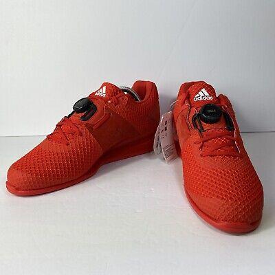 Adidas Leistung 16 2.0 Men/'s Weightlifting Shoes CrossFit Powerlift Red