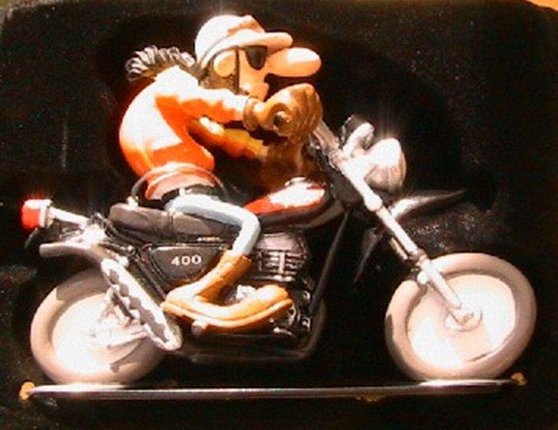 FIGURINE JOE BAR TEAM PAUL CHOTTE MOTO BIKE SUZUKI TS 400 APACHE 1 18 RESINE