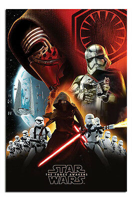 Star Wars The Force Awakens Movie Poster 36x24 Inch T013