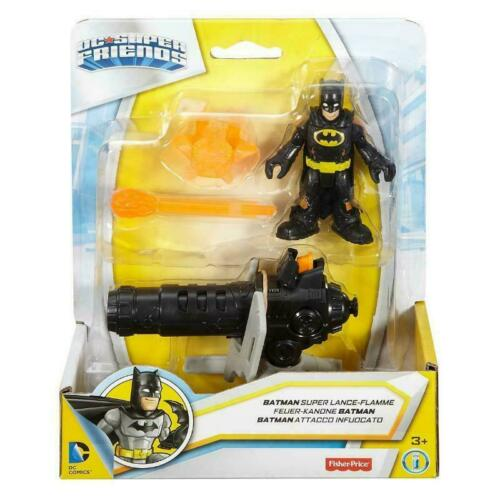 NEW CHOICE OF 5 FISHER-PRICE IMAGINEXT JUSTICE LEAGUE FIGURES WITH ACCESSORIES
