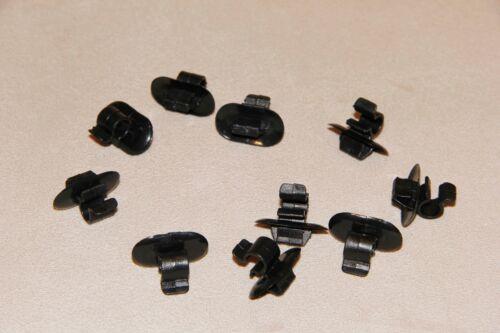 6-7 MM JAGUAR XF HOOD BONNET BRAKE CLUTCH PIPE/&CABLE HOLDER CLIPS
