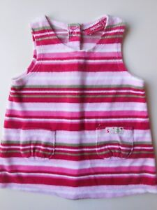039-SPROUT-039-BABY-GIRL-VELOUR-PINAFORE-DRESS-CLOTHES-GARMENT-SIZE-00-FITS-3-6M