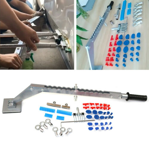Bridge Dent Puller Kit Car Dent Repair Tools Glue Tabs Slide Tips Accessory Set
