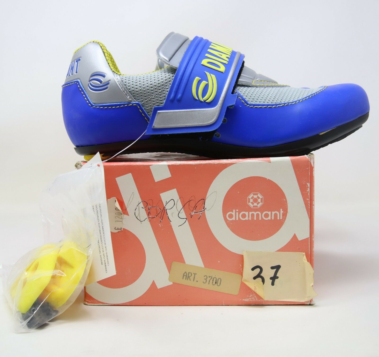 DIAMANT CYCLING RACING SHOES SIZE VINTAGE 90s - NOS NIB