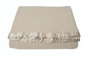 Creswick-Fine-Merino-Wool-Bed-Blanket-Sahara