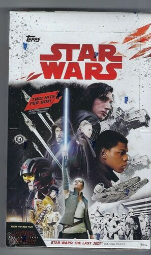 Topps Star Wars The Last Jedi Trading Cards Hobby Box Factory Sealed