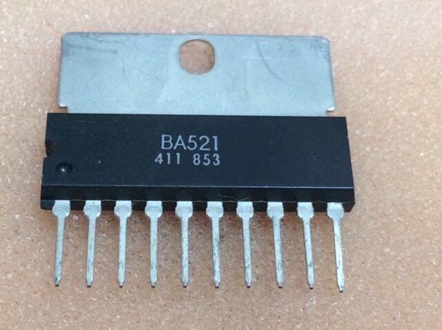 1 pc. BA521  ROHM   SIP10  NOS  #BP
