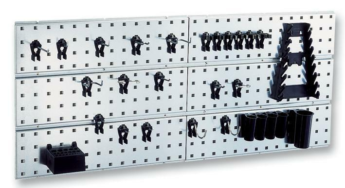 Tool panel44 CLIPS 440x1560 Storage Wall Panel - Tool Panel, 44 CLIPS