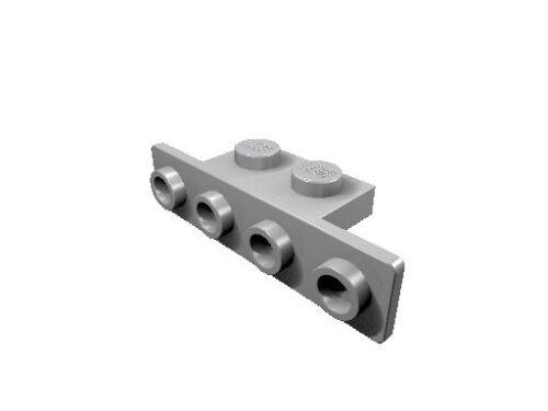 10 x 2436 LEGO Winkel 1 x 2-1 x 4 hell-blaugrau neu