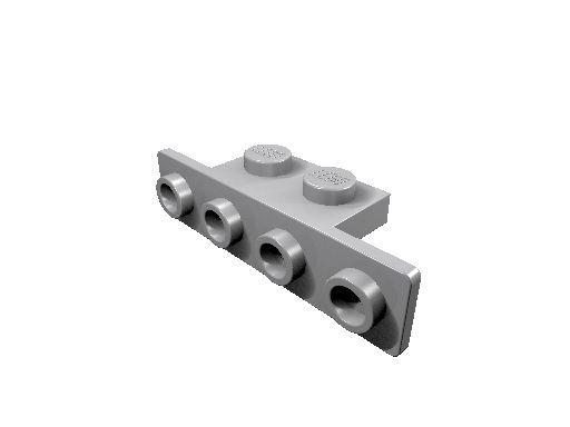 10 x [neu] LEGO Winkel 1 x 2 - 1 x 4 - hell-blaugrau - 2436
