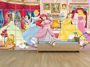 Disney Princess Princesses Poster Massive Huge Room Kids Chambre