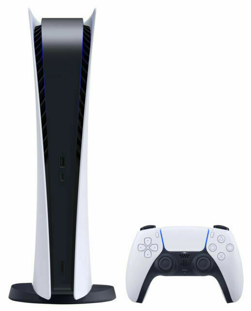 Sony PlayStation 5 Digital Edition Console - White - IN HAND