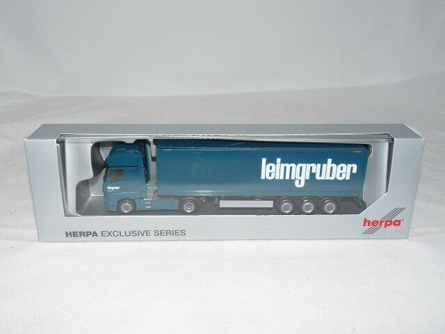Herpa 935920 Mercedes-Benz Actros Gigaspace Container-Sattelzug - - - Leimgruber ... 1d1ad4