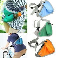 Travelling Hiking Running Sports Utility Bum Bag Belt Waist Pouch Wallet Bumbag