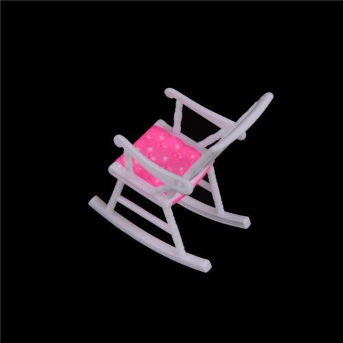 Miniature Doll Rocking Chair Accessories For Doll  Room Dollhouse DecoratioFDCA