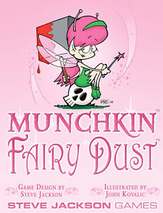 Munchkin-Expansion-Fairy-Dust-NON-FOIL-Booster-Pack-Steve-Jackson-Games-New