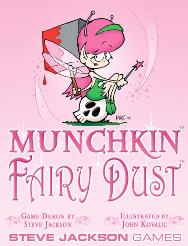 Munchkin Expansion Fairy Dust NONFOIL Booster Pack Steve Jackson Games New