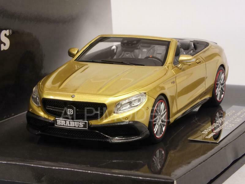 Brabus 850 Mercedes AMG S63 Cabriolet 2016 or 1 43 MINICHAMPS 437034234