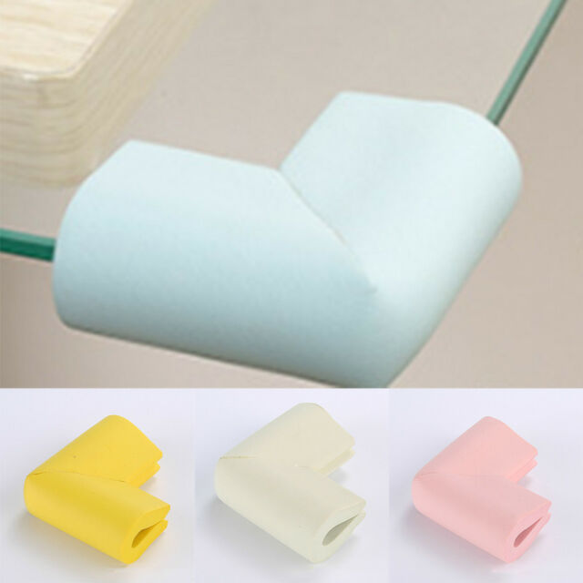 8PCS Kid Child Baby Rubber Soft Safety Cushion Protector Table Corner Edge Guard