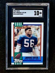 1990-Topps-52-Lawrence-Taylor-DIsclaimer-Back-SGC-10-Gem-Mint-Pop-1