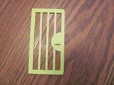 Vintage Playskool Lock Up Zoo replacement piece door #2