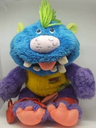 1986 Zugly Hug-a-monster plush -Complete Super rare and in Amazing Condition - FREE SHIPPING