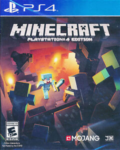 Minecraft Playstation 4 Edition PS4 Game  -  NEW & SEALED