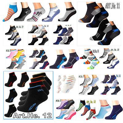 "1-24p 43 Varietà Damensneaker Polarzip Breve Calze Herrensneaker Sneakersocken""-mostra Il Titolo Originale"