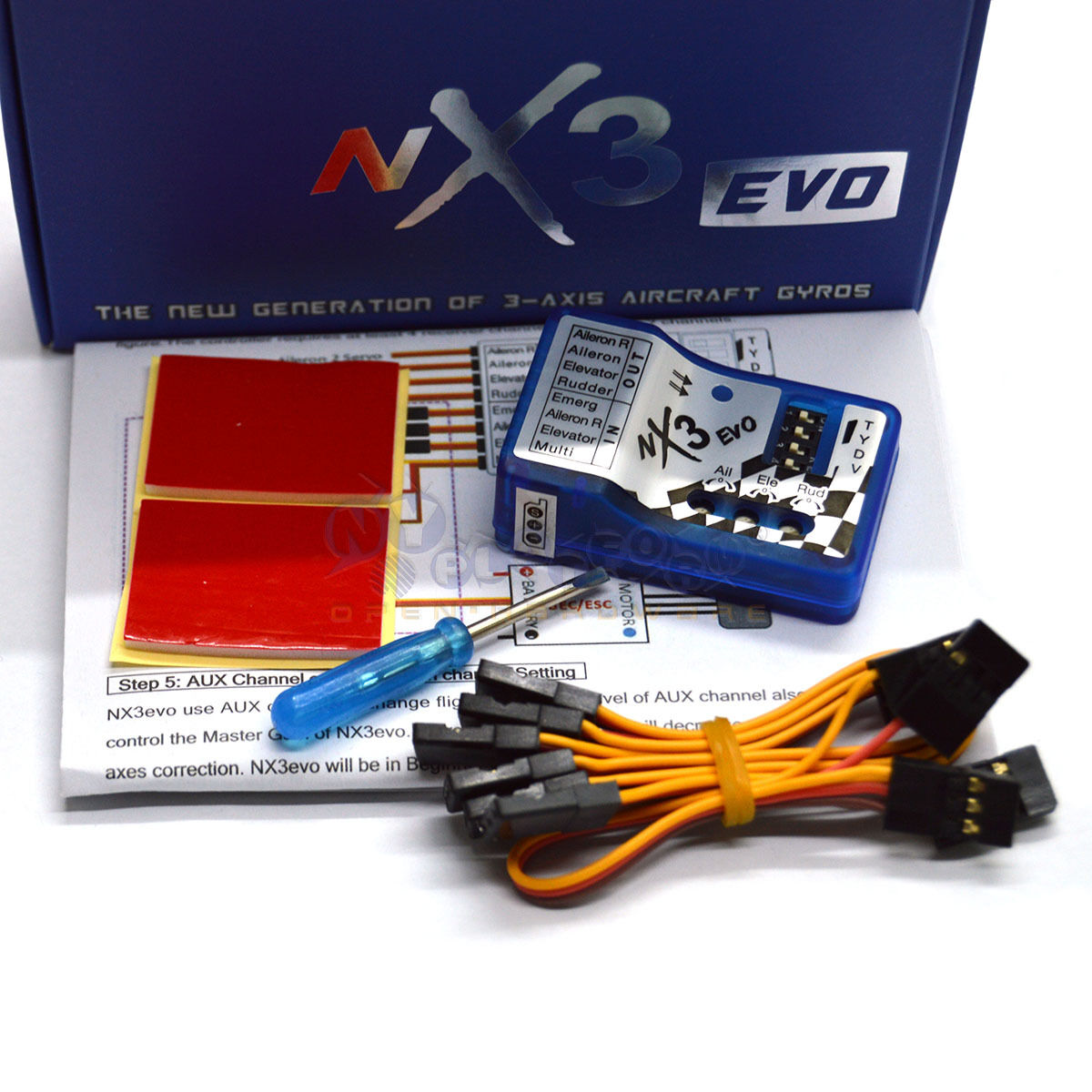 NX3 EVO EVO EVO 3D Flight Stabilization Controller Gyro Balance For RC Air US selle dd5d25