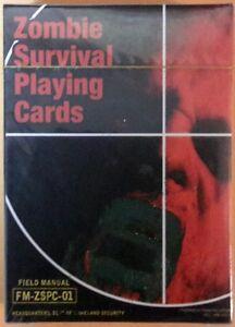 Zombie-Sopravvivenza-Carte-da-Gioco-Governo-Problema-Manuale-Zombie-Traits-Armi