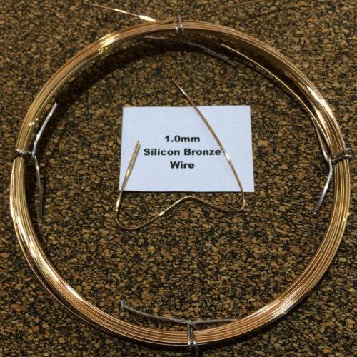 1mm x 10m 19 SWG Silicon Bronze Craft Wire TIG Brazing No 968  CuSi3Mn1