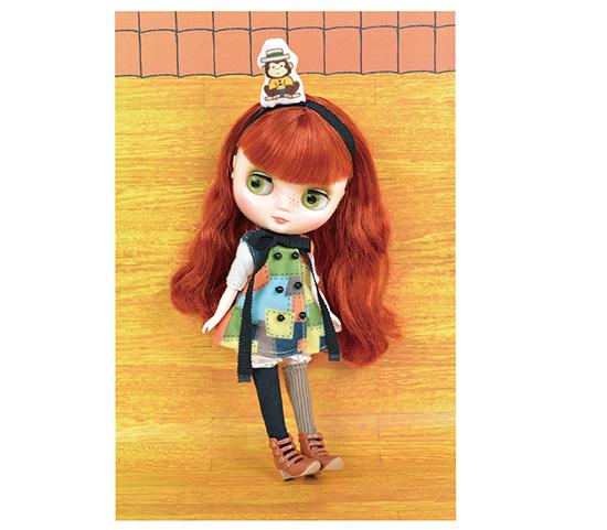 Midi Blythe Jolly Jumbly Pippilotta doll figure from JAPAN