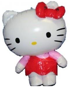 Hello KITTY GONFIABILE personaggio ottimo giocattolo per bambini 46 cm l/'altezza