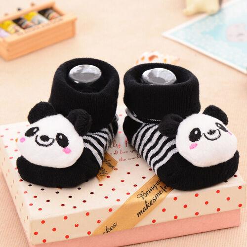 HOT 1Pair Cotton Baby Kids Socks Breathable Anti Skid Cartoon Socks
