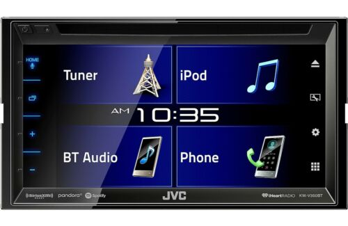 """NEW JVC KW-V350BT 6.2/"""" TOUCHSCREEN BLUETOOTH CAR STEREO IPHONE ANDROID KAMELEON"""