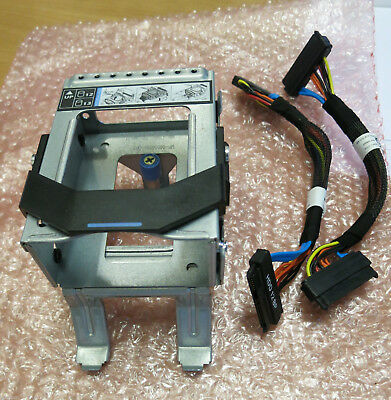 """Dell PowerEdge R510 Internal 2x 2.5/"""" Hard Drive HDD Bay Cage PE R510 with cables"""