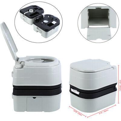 20L tragbare Toilette tragbare Camping-Wohnwagen Deckel Eimertoilette 120-130KG