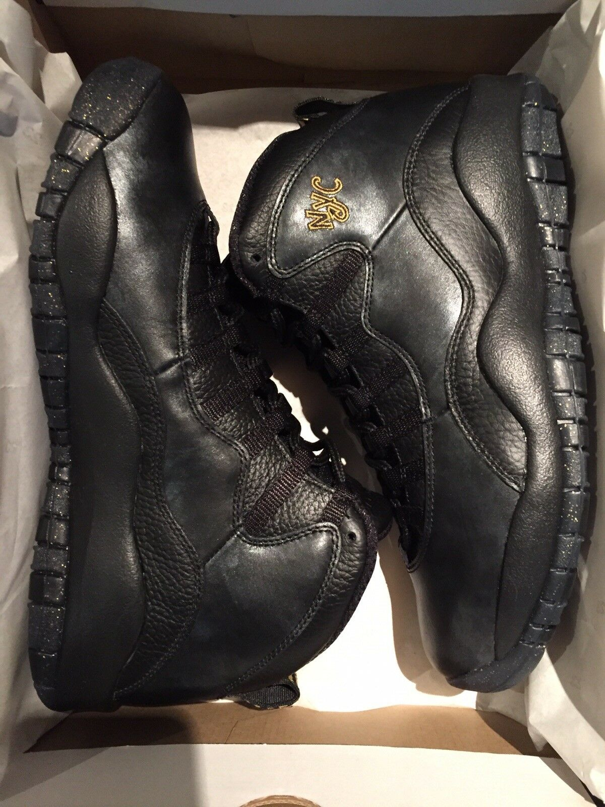 Nike Air Jordan 10 Retro City Collection 'NYC Raro X' DS nos 9.5 Raro 'NYC Limitado 284a97