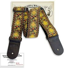 Walker & Williams Vintage Series H-03 Psychedelic Sun Woven Hippie Guitar Strap