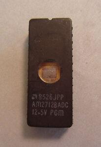 EPROM-8526JPP-AM27128ADC-12-5V-PGM-28-Pin-IC-Prozessor-Chip