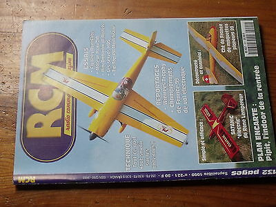 µ? Revue RC PILOT Inter n°38 Plan encarté Voiture B66 /& Tip Top Easy Glider