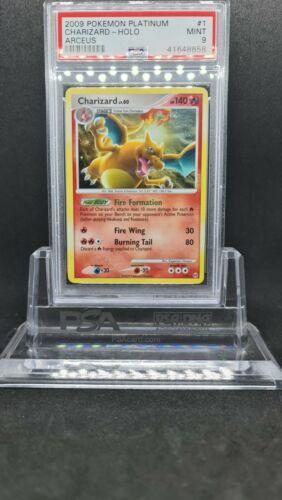 ???Charizard Holo 1/99 PSA 9 - 2009 Pokemon Platinum Arceus???