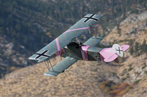 Plan Set Full Color By Arizona Models Fokker D.VII 1//4 Scale