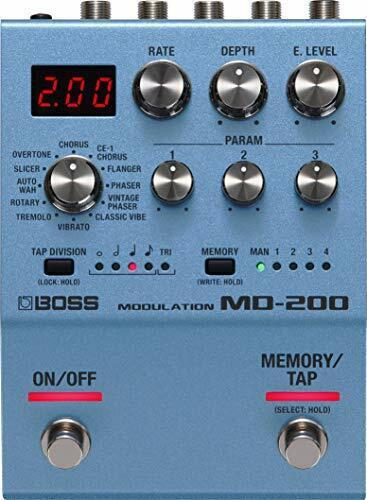 BOSS Modulation Guitar Pedal (MD-200), Compact