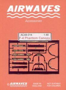 Airwaves-1-48-F-4-Phantom-Canopy-Set-for-Hasegawa-kit-AEC48014