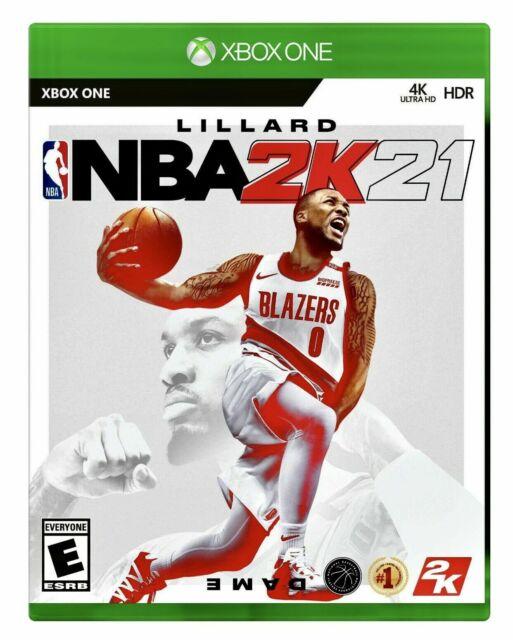 NBA 2K21 -- Standard Edition (Microsoft Xbox One, 2020) NEW & SEALED! FREE Ship!