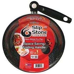 10 Inch Non Stick Frying Pan Cook No Oil Slip Stone