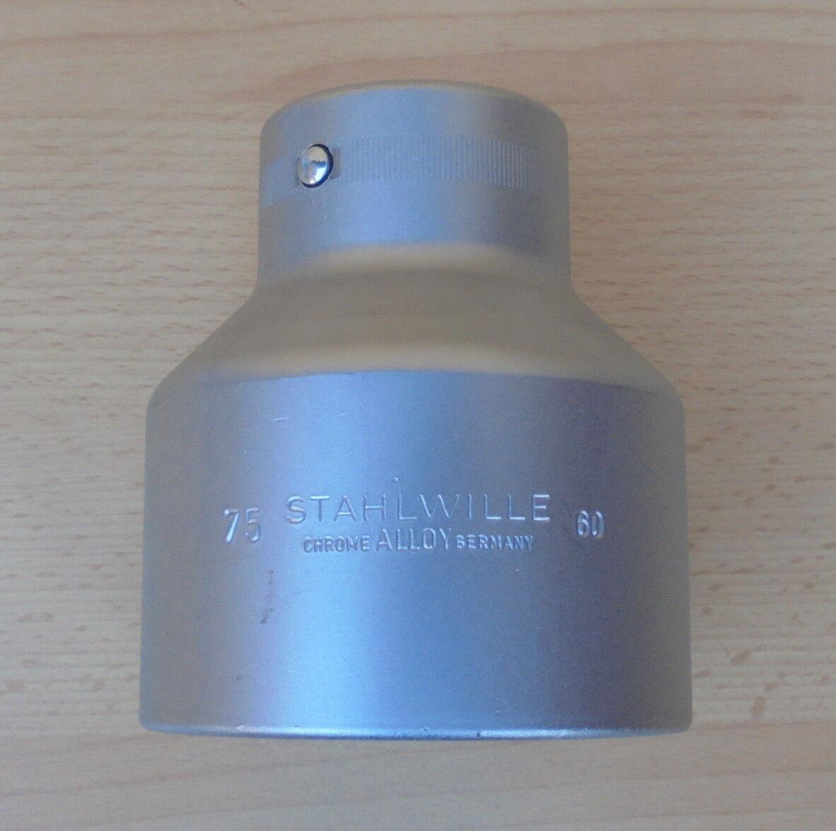 Stahlwille 60 75 mm Steckschlüsseleinsatz 6-Kant Nuss