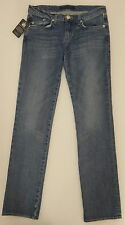 ROCK & REPUBLIC DISTRESSED STRAIGHT LEG LOW RISE BLUE JEANS SIZE 30